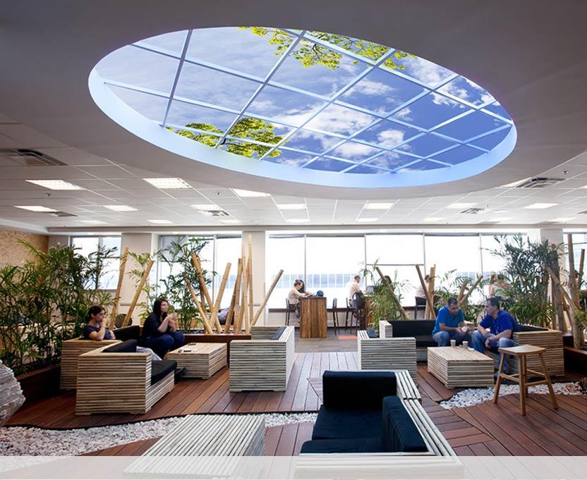 Luminous Skyceilings Led Virtual Skylight Sky Factory